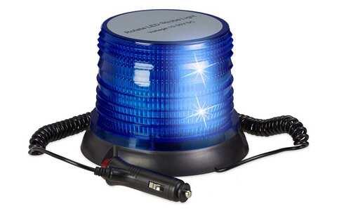 obrázek LED maják modrý