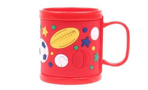 obrázek Hrnek dětský plastový (červený míč)