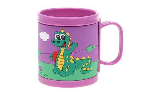 obrázok Hrnček detský plastový (fialový dráčik)