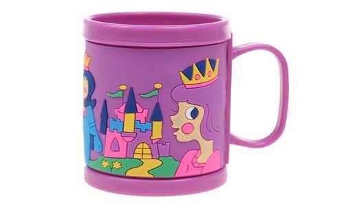 obrázek Hrnek dětský plastový (fialový královna)