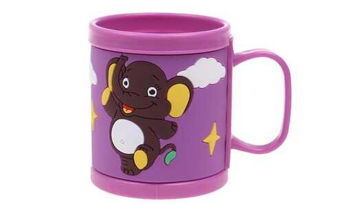 obrázek Hrnek dětský plastový (fialový slon)