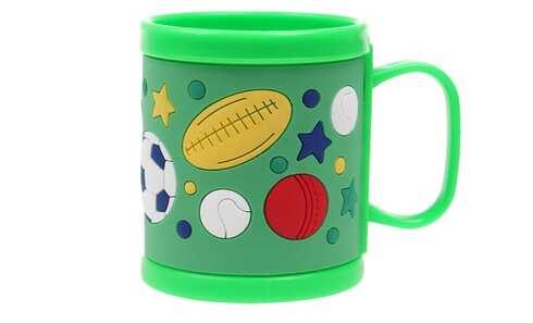 obrázok Hrnček detský plastový (zelený lopta)