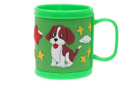 obrázok Hrnček detský plastový (zelený psík)