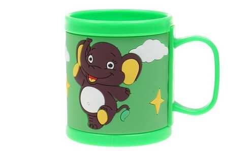 obrázek Hrnek dětský plastový (zelený slon)
