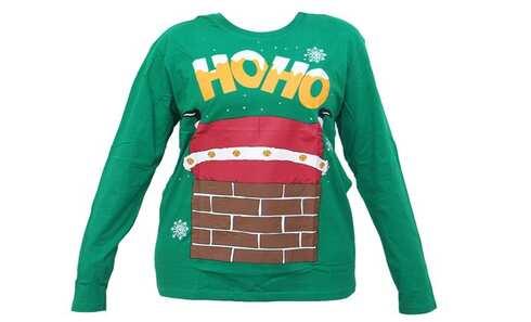 obrázek Pánské tričko vánoční zelenével.M