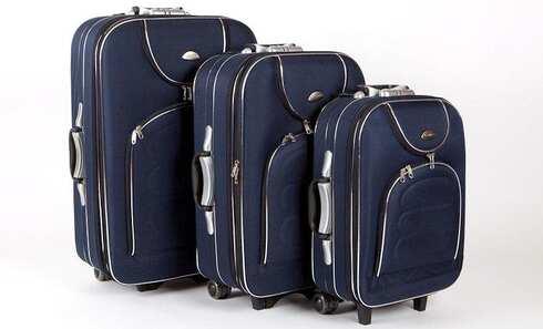 obrázok Sada troch cestovných kufrov
