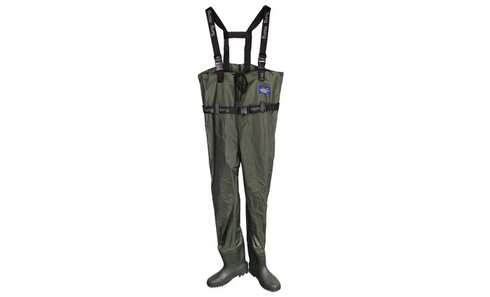 Brodící kalhoty prsačky - zelené