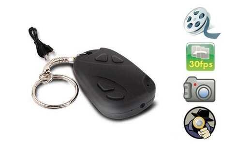 obrázok Mikro kamera ukrytá v kľúčenke