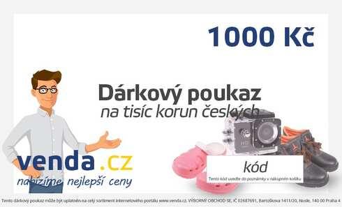obrázek Dárkový poukaz 1000 Kč