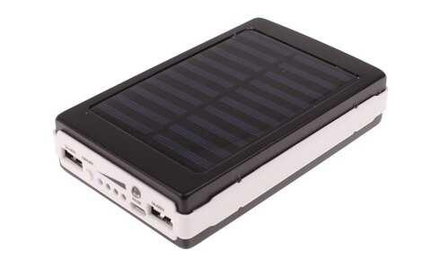 obrázek Solární powerbanka se svítilnou Lext 20000 mAh