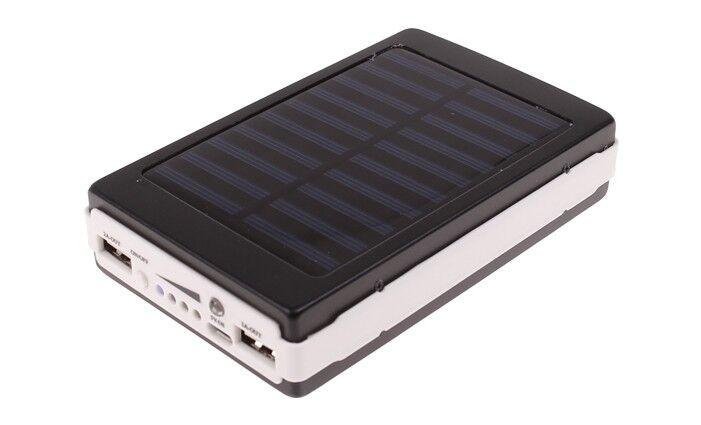 Solární power banka se svítilnou Lext