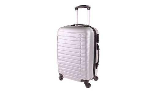 Kufr skořepinový střední