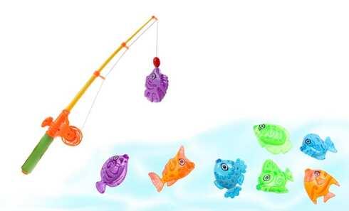 Rybičky – magnetická hra