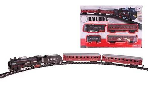 obrázek Rail King sada vláčků