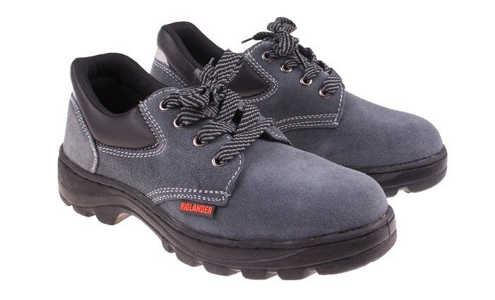 Pracovní boty Riglander semišové