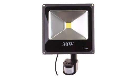 obrázek PIR LED reflektor s pohybovým senzorem 30 W, IP 66