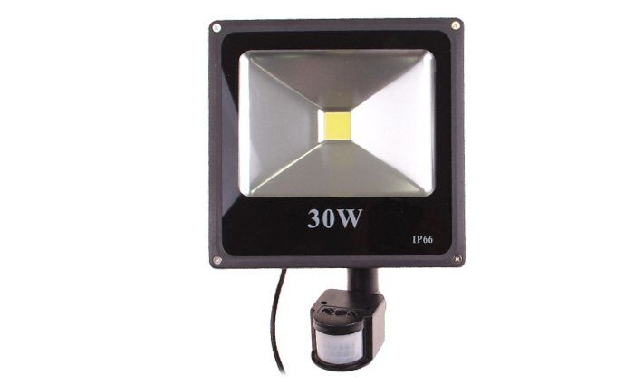 PIR LED reflektor s pohybovým senzorem 30 W, IP 66
