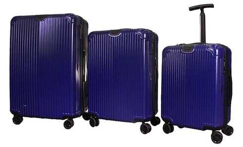 obrázok Sada 3 škrupinových kufrov Jiekasi