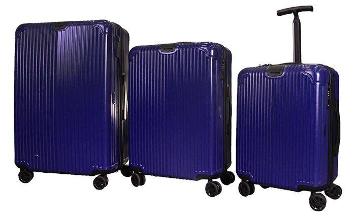 Sada 3 skořepinových kufrů Jiekasi
