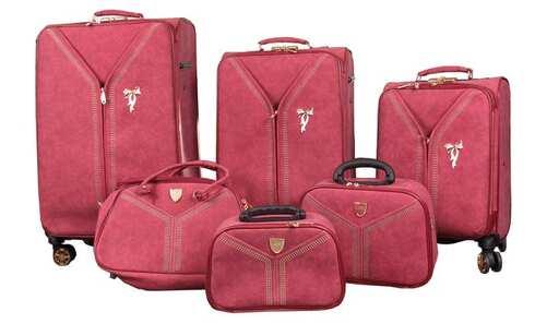 obrázek Sada 6 cestovních zavazadel Luxi matné