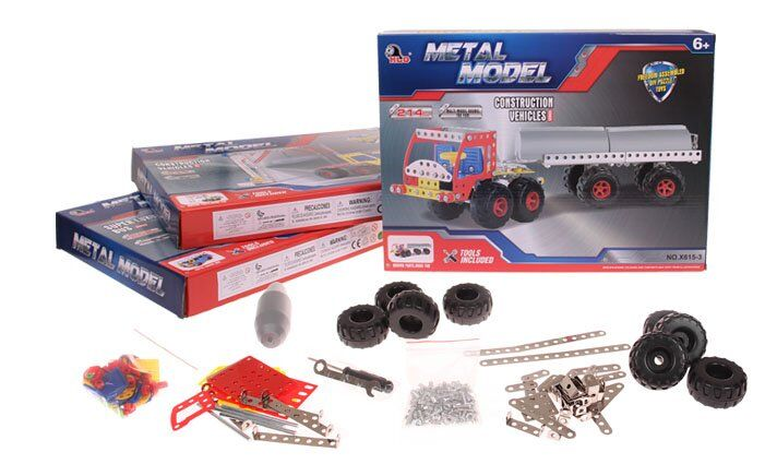 Kovová stavebnice Metal Model