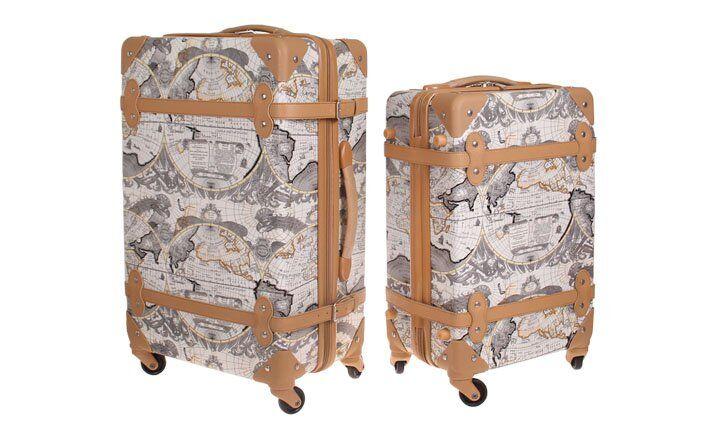 Eazz dva skořepinové kufry
