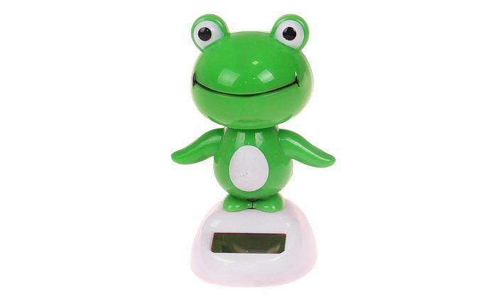 Solární tančící žába