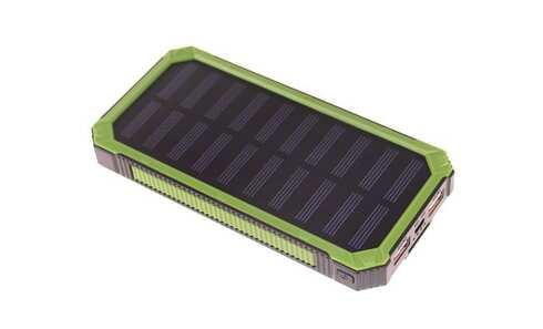 obrázok PowerBank DENR so solárnym panelom 20800 mAh