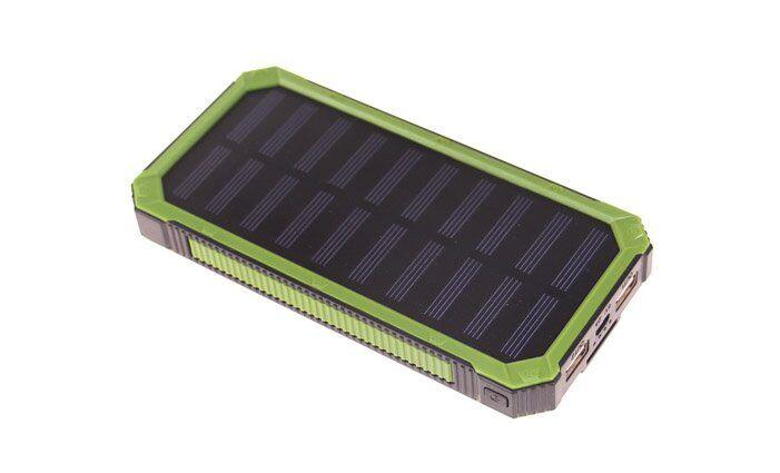 Powerbanka DENR se solárním panelem 20800 mAh