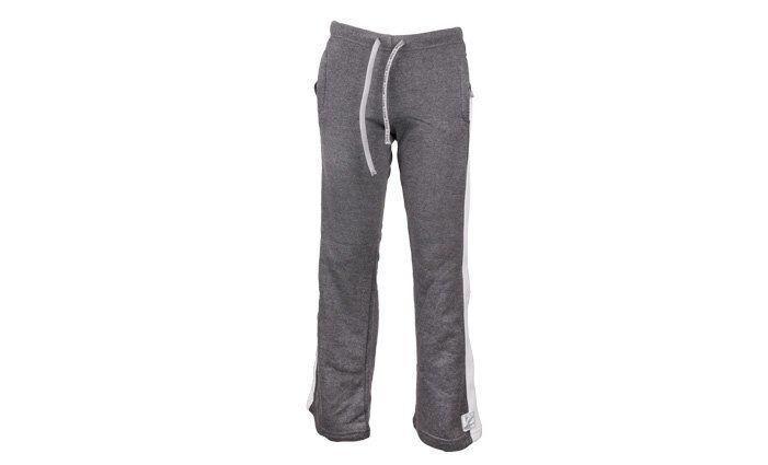 Chlapecké teplákové kalhoty šedo bílé