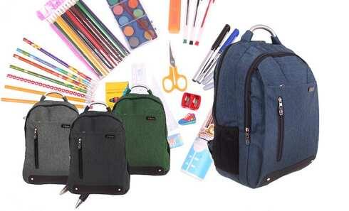obrázek Batoh Advanced s náplní školních potřeb