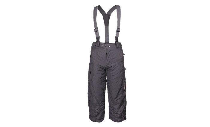 Chlapecké zateplené kalhoty Attack šedé vel. 92