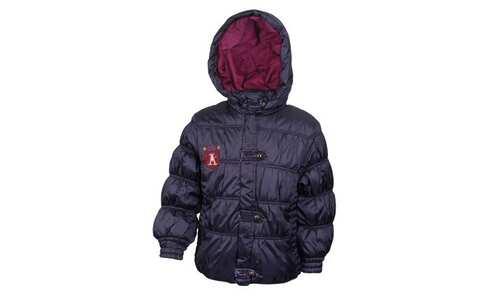 obrázok Dievčenské prešívaná bunda tmavo modrá veľ. 92