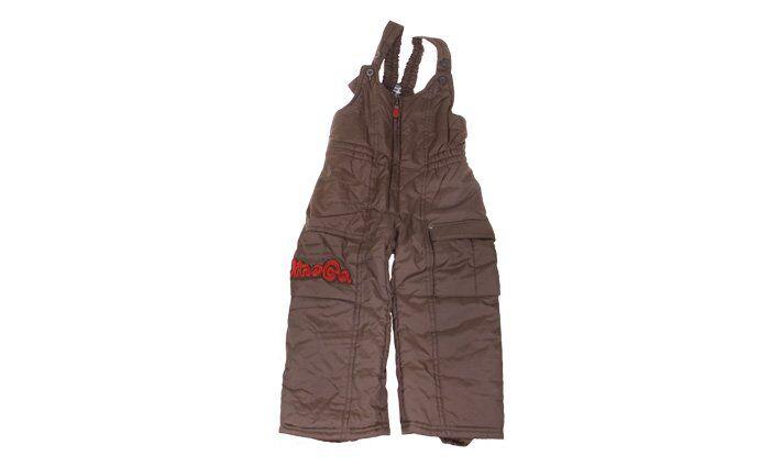 Zateplené kalhoty DinoCo hnědé