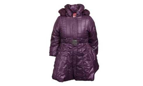 obrázek Dívčí zimní kabát fialový vel. 98