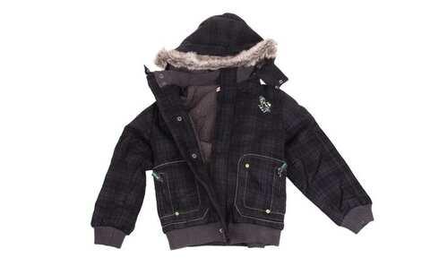 obrázok Chlapčenská zimná bunda čierna veľ. 128