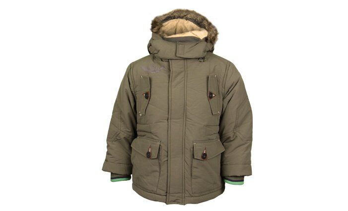 Chlapecká bunda UrbanAlternative zelená