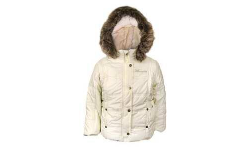 obrázek Dívčí zimní bunda světle žlutá vel. 92