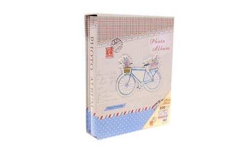 obrázok Fotoalbum Bicykel na 200 fotografií modrá