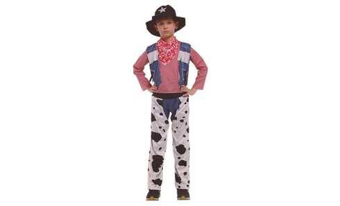 obrázek Dětský kostým kovboj vel. XL