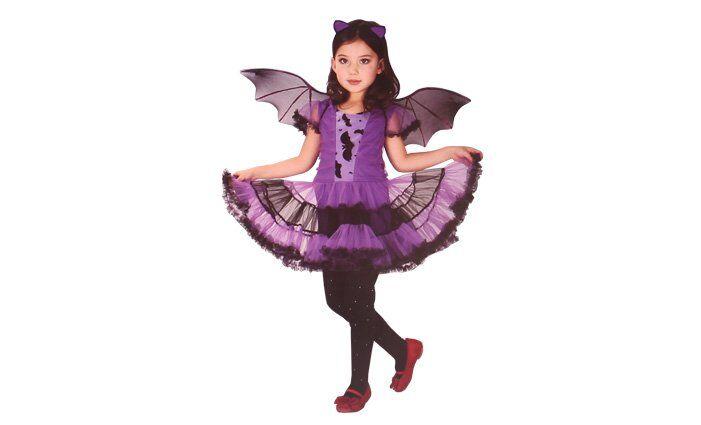 Dětský kostým netopýří dívka vel. M