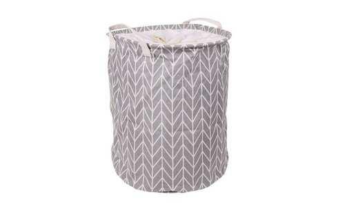 obrázek Koš na prádlo šedý