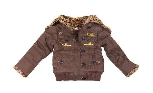 obrázek Dívčí bunda hnědá tygrovaná vel. 92