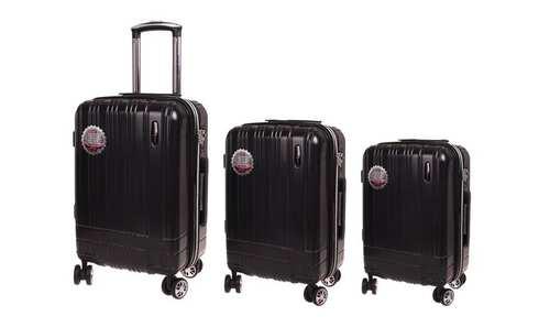 obrázok Sada 3 kufrov RainDeer čierná