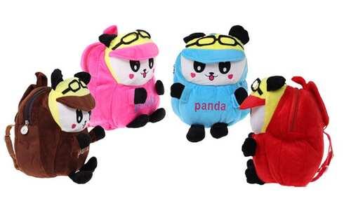 obrázek Plyšový batůžek (panda)