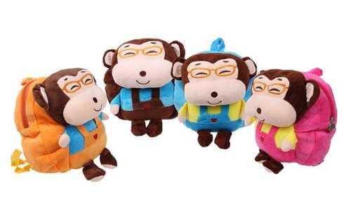 obrázek Plyšový batůžek (opička)