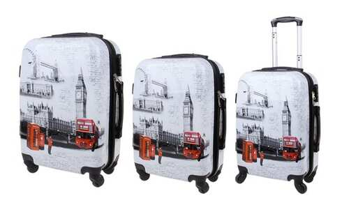 obrázek Sada 3 kufrů (Big Ben)