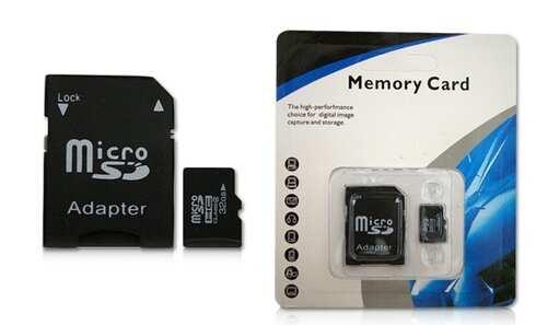 obrázek Micro SD paměťová karta 32GB