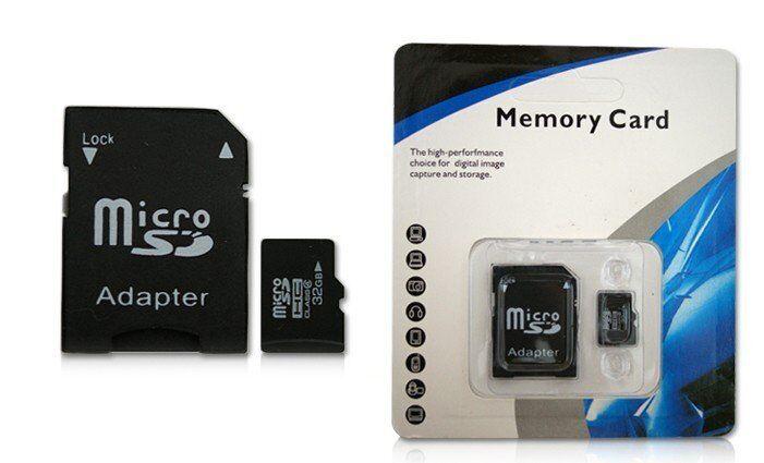 MC Micro SDHC 32GB paměťová karta + SD adaptér