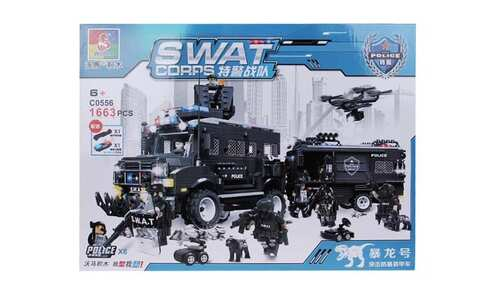 obrázek Stavebnice SWAT Police